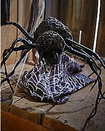 12 inch attack spider animatronics decorations - Spider Decorations