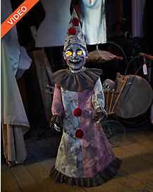 25 ft roaming antique clown animatronics decorations