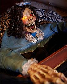 2 Ft Grave Grabber Doll Animatronics - Decorations