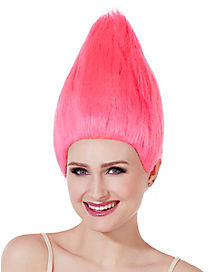 Pink Pointed Wig