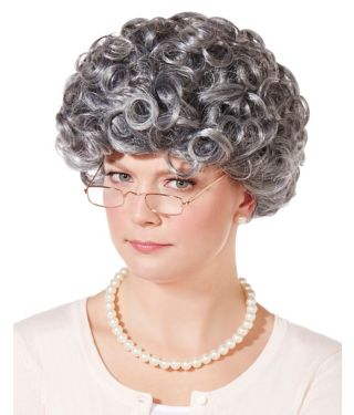 Old Woman Wig
