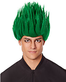 Spiked Green Wig