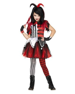 Killer Clown Halloween Costumes For Girls.Kids Killer Clown Costume Spirithalloween Com