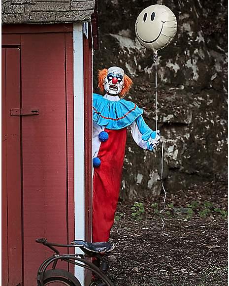 5 ft evil clown animatronics decorations for Clown dekoration