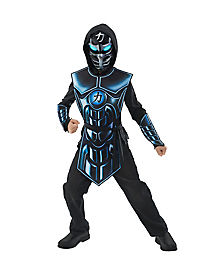 Kids Light Up Extreme Robot Ninja Costume