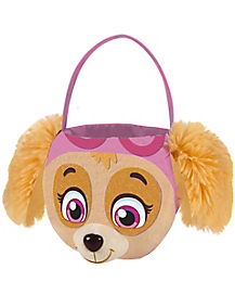 Skye Faux Fur Plush Bucket - Paw Patrol