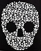 Skull Canvas Tote Bag