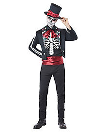 Adult Los Muertos Day of the Dead Costume