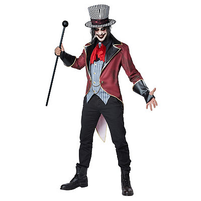 Victorian Mens Suits & Coats Adult Sinister Ringmaster Costume $59.99 AT vintagedancer.com