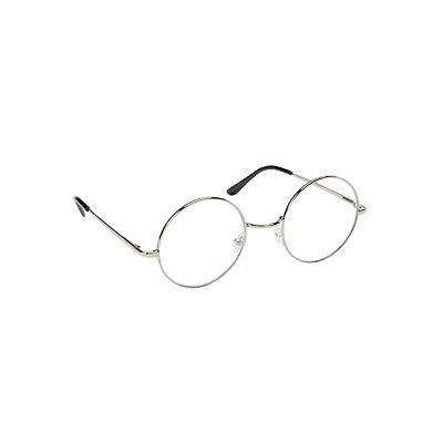 Edwardian Style Clothing Round Metal Nerd Glasses $7.99 AT vintagedancer.com