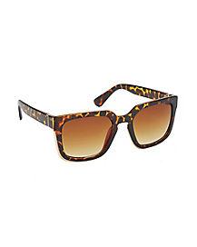 90's Leopard Sunglasses