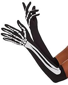 Skeleton Arm Gloves