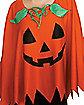 Adult Pumpkin Poncho