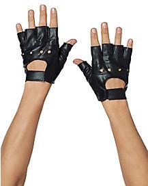 Fingerless Racer Gloves