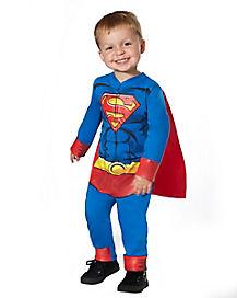 Toddler Superman One Piece Costume - DC Comics