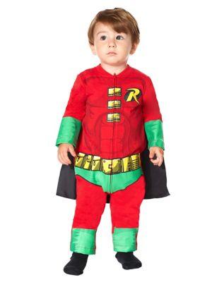 Baby Robin One Piece Costumes - DC Comics  sc 1 st  Spirit Halloween & Baby Robin Costume - DC Comics Teen Titans - Spirithalloween.com