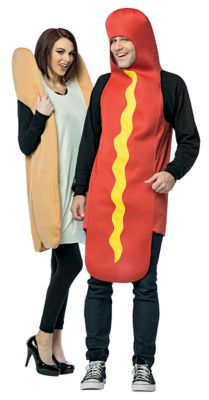 Food Costumes | Hot dog costumes for couples