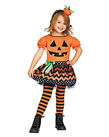 Toddler Petite Pumpkin Costume