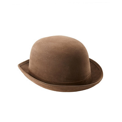 Steampunk Hats | Top Hats Bowler Hat Deluxe $12.99 AT vintagedancer.com