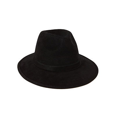 1920s Mens Hats – 8 Popular Styles Wide Brim Fedora Deluxe $12.99 AT vintagedancer.com