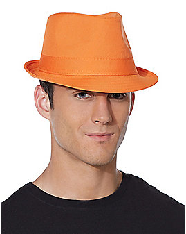Orange Fedora