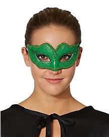 Green Venetian Mask