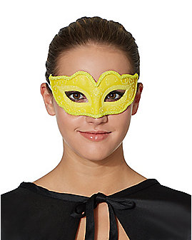 Yellow Venetian Mask