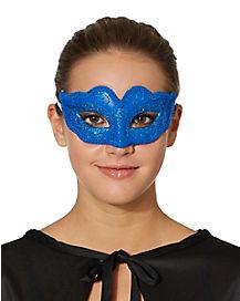 Blue Venetian Mask