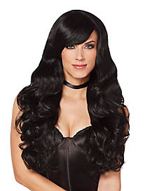 Black Curls Wig