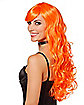 Orange Curls Wig