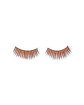 Orange Eyelashes