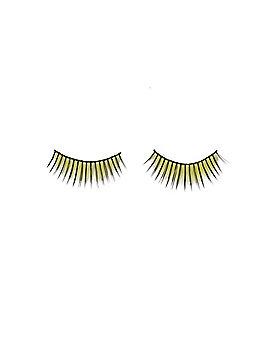 Yellow Faux Eyelashes