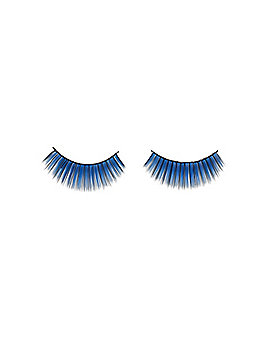 Blue Fake Eyelashes