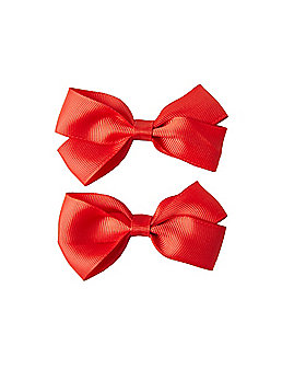 2 Pack Red Bows