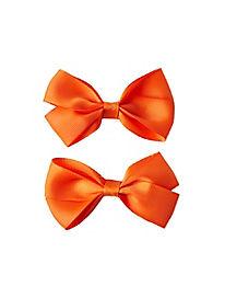 2 Pack Orange Bows