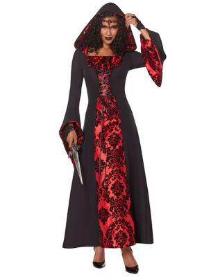 4e9a1ff0803c0 Adult Victorian Vampiress Plus Size Costume - Spirithalloween.com