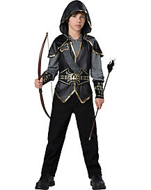 Kids Hooded Huntsman Costume