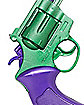 Green and Purple Toy Revolver