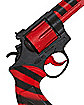 Red and Black Striped Toy Revolver