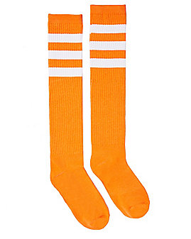 Knee High Orange Socks