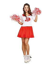 Adult Thats the Spirit Cheerleader Costume
