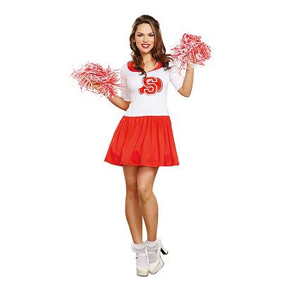 1950s Costumes Adult Thats the Spirit Cheerleader Costume $49.99 AT vintagedancer.com