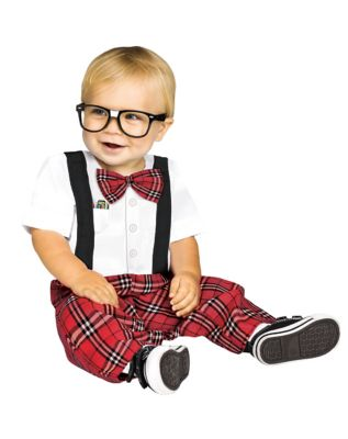 Kids 1950s Clothing & Costumes: Girls, Boys, Toddlers Baby Nerd Costume by Spirit Halloween $24.99 AT vintagedancer.com
