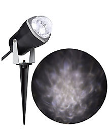 White Fire and Ice LED Spot Light