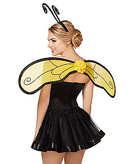 Bumble Bee Wing and Headband Set