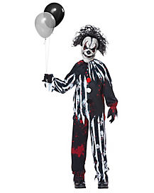 Kids Freakshow Clown Costume