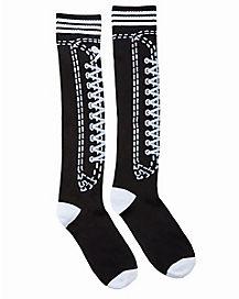 Faux Show Knee Socks