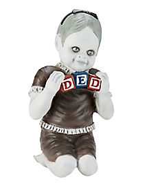 ded blocks zombie baby decorations