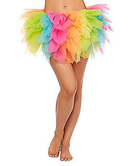 Rainbow Shredded Tutu