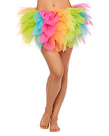 Rainbow Shredded Tutu
